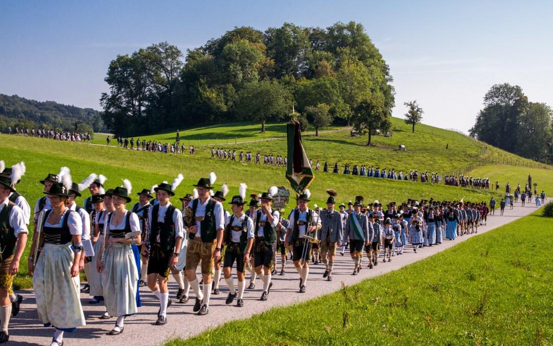 Bilderbuch-Jubiläums-Trachtenfest