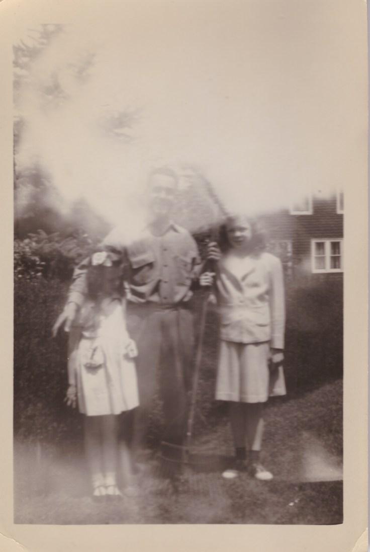 Aunt Mary, Grampy, Mom