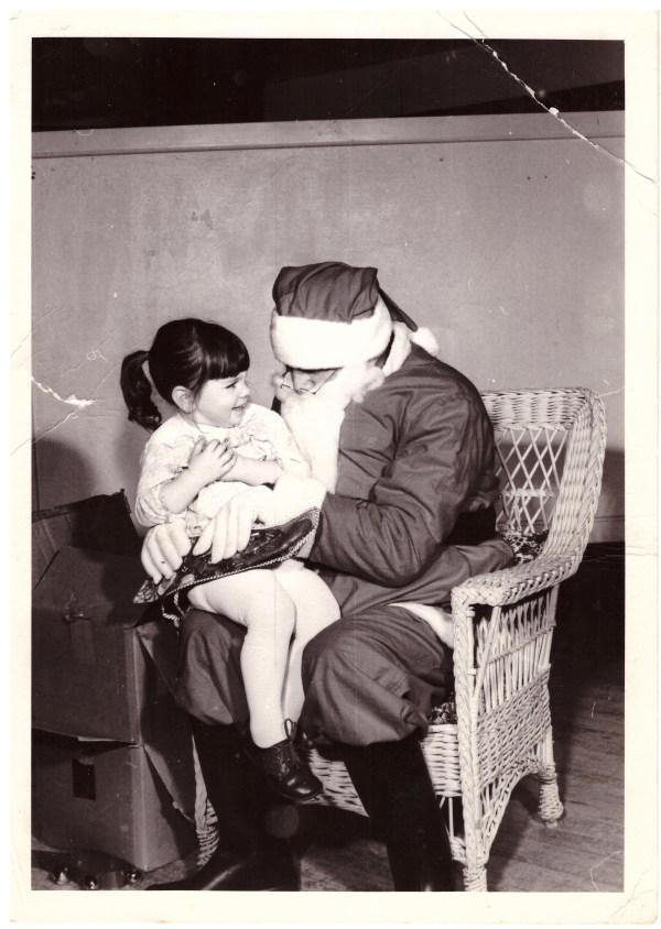The jolly old elf and I go waaaaay back!