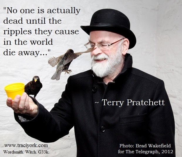 GNU Pratchett ripple quote