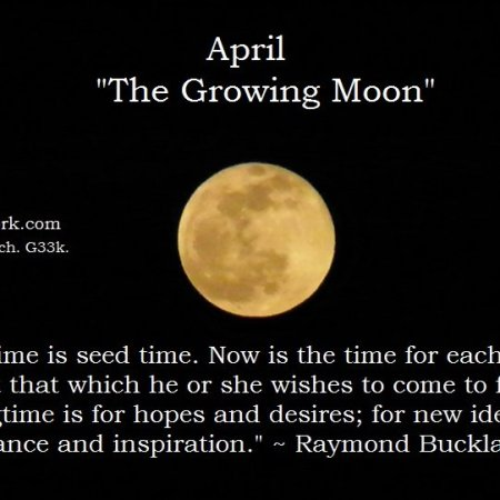 April full moon Buckland quote
