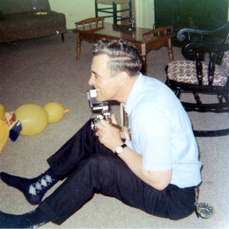 Dad the photog, September 1968