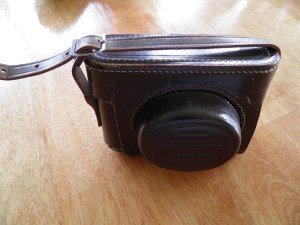 Dad's camera in the case