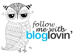 Follow me with Bloglovin'
