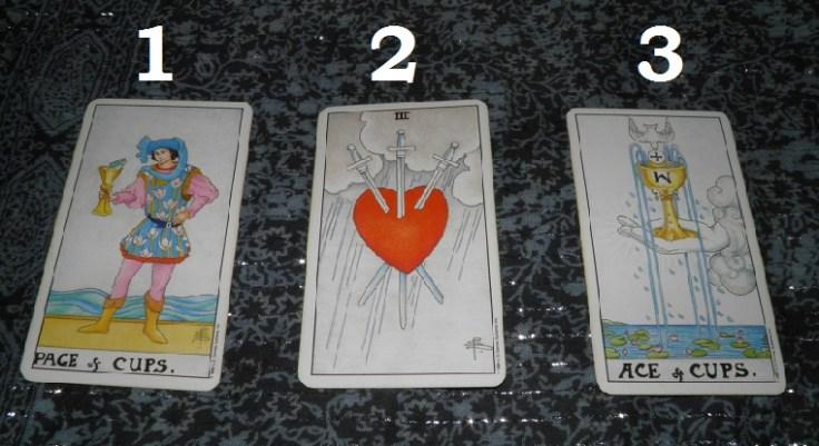 Tarot card front