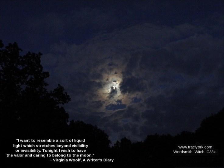 Virginia Woolf moon quote