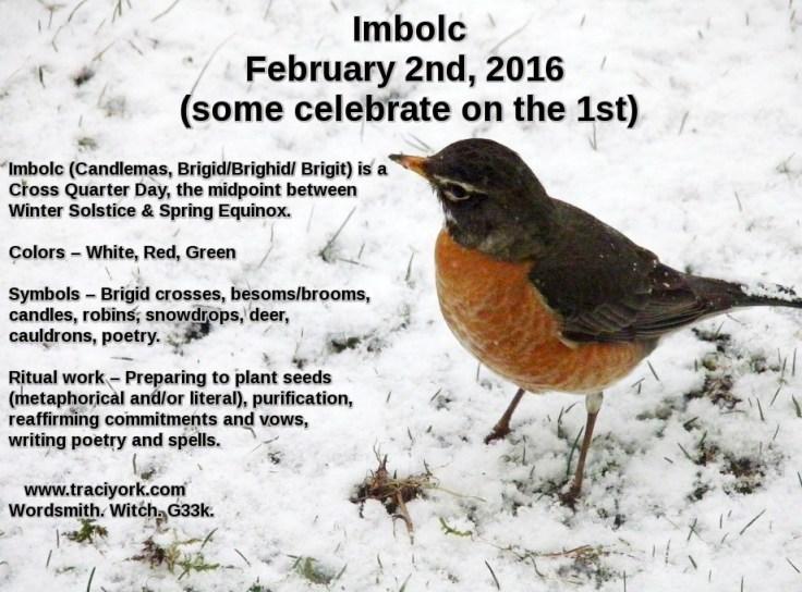 1. Imbolc 2016