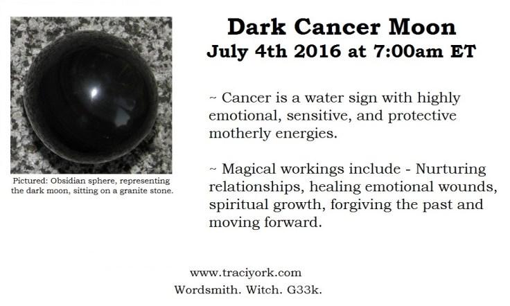 Dark Cancer Moon