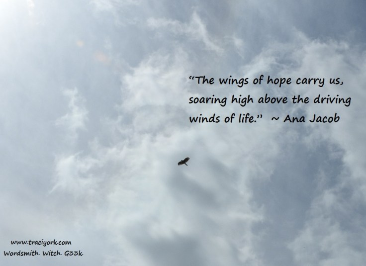 Hope wings quote