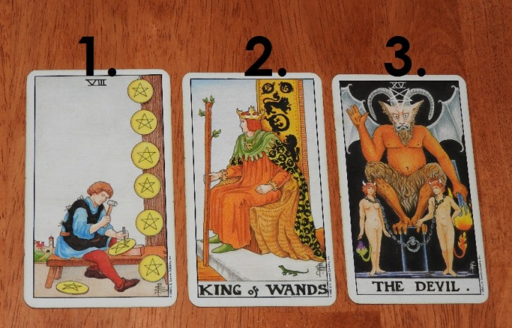 September 6th Free Tarot Card Reading, front