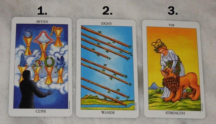 December 6th Free Tarot Card Reading, front
