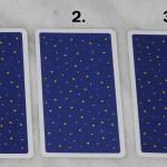 Tarot cards for January 3 2017, back