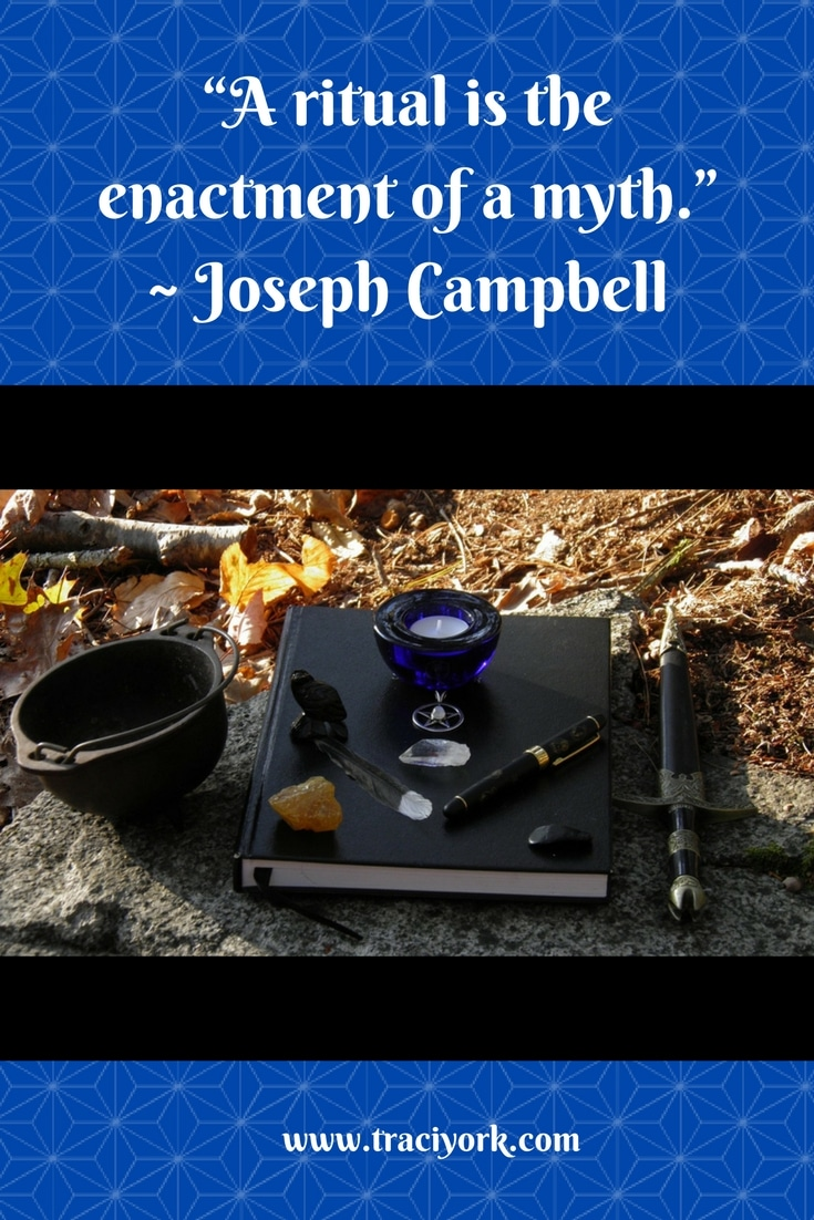 Witch Quote Challenge Week 2 Joseph Campbell Ritual Quote