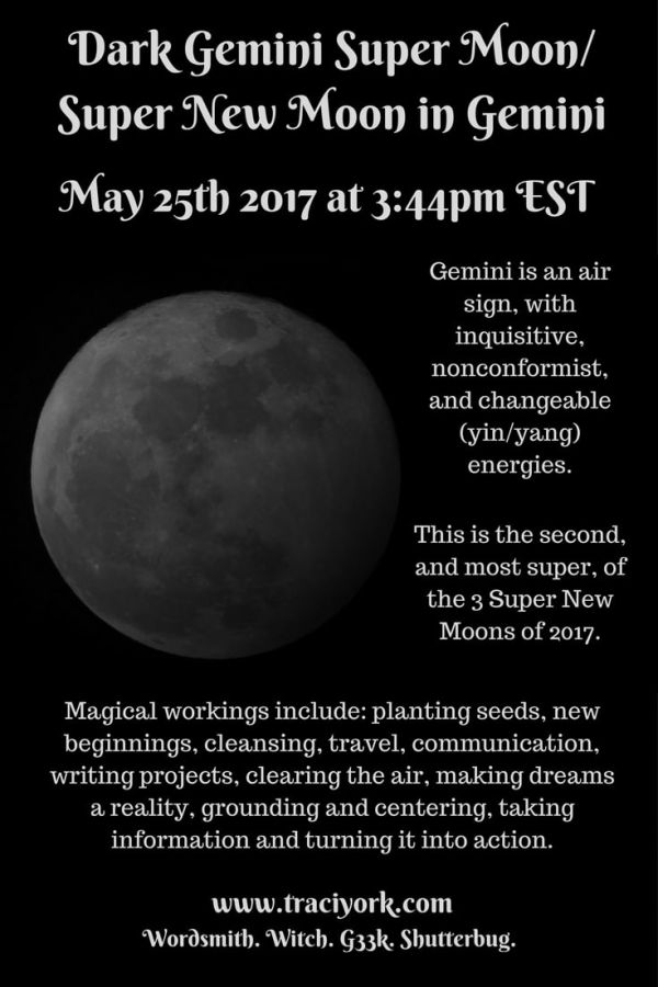 May 2017 Dark Gemini Moon