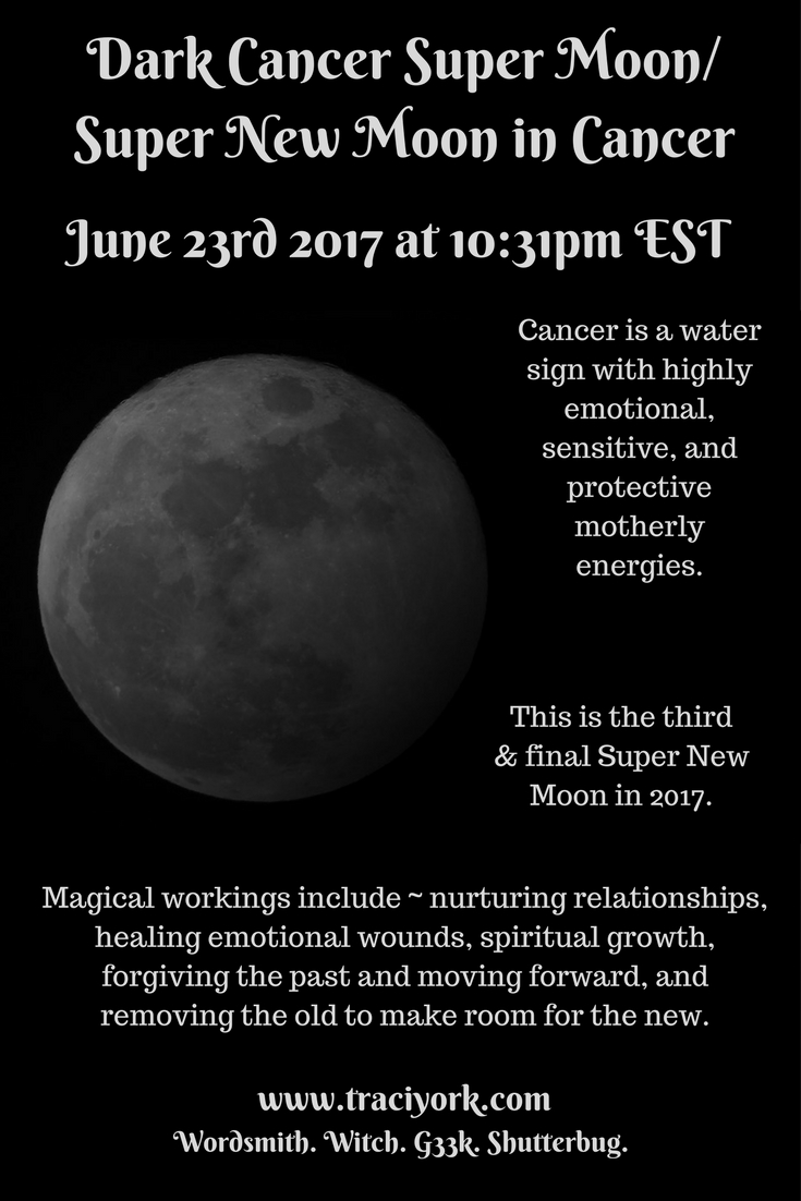 June 2017 Dark Cancer Moon