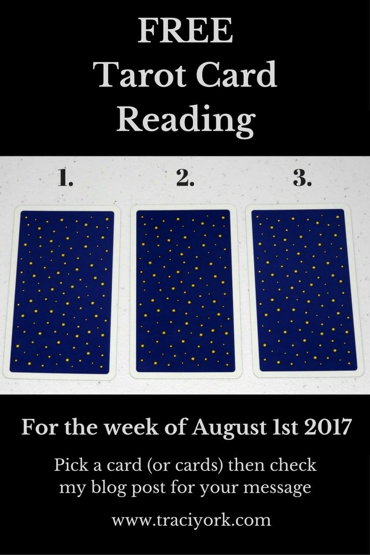 August 1 2017 Tarot, Blog Graphic