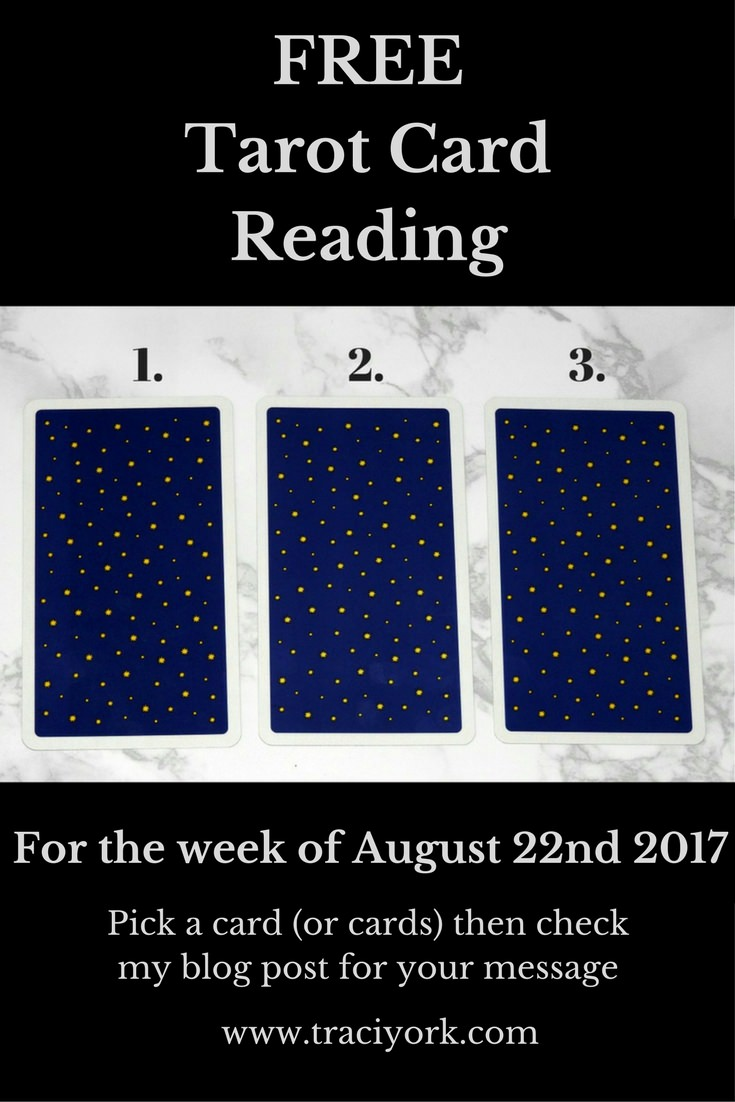 August 22nd 2017 Tarot, blog graphic