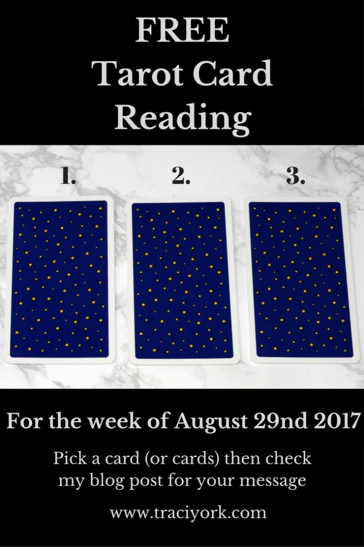 August 29th 2017 Tarot, blog graphic