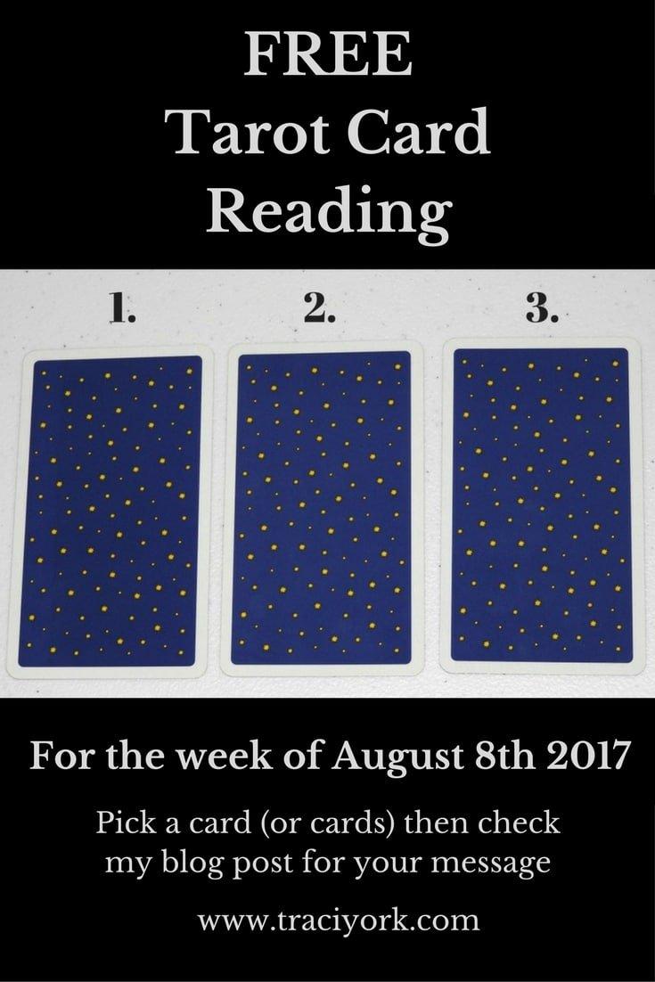August 8 2017 Tarot, Blog Graphic