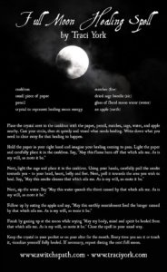 Healing Ritual for the Full Harvest Moon in Pisces