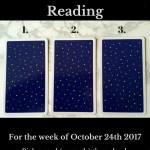 October 24th 2017 Tarot, Blog Graphic