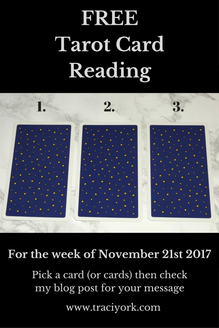 November 21st 2017 Tarot