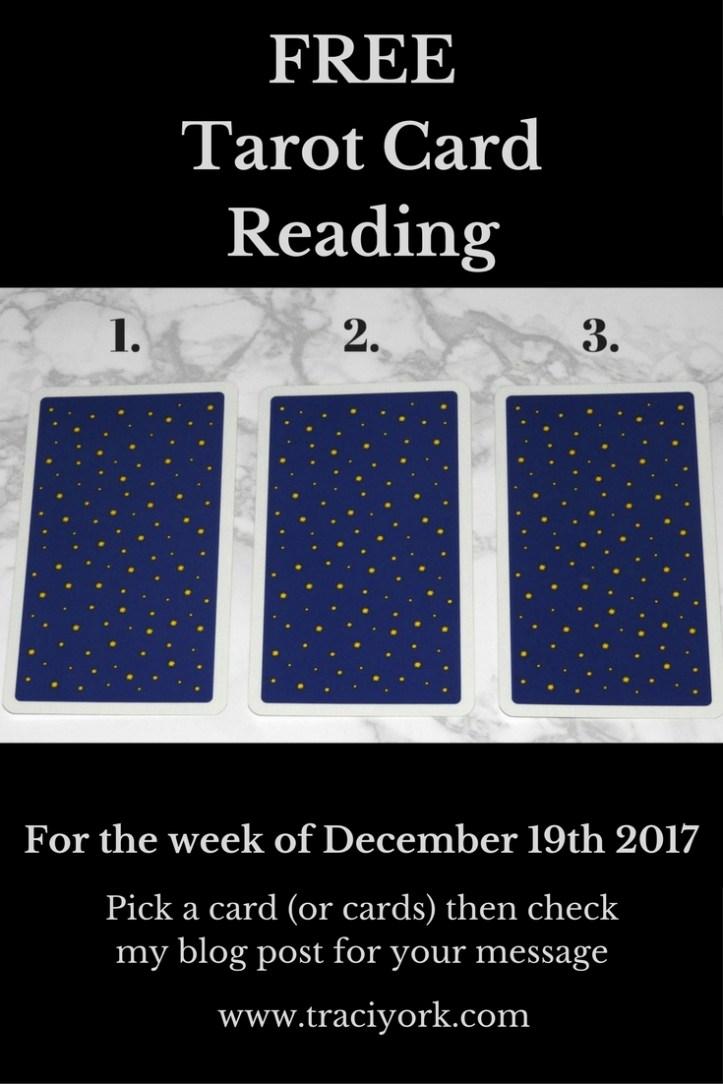 December 19th 2017 Tarot Blog Graphic