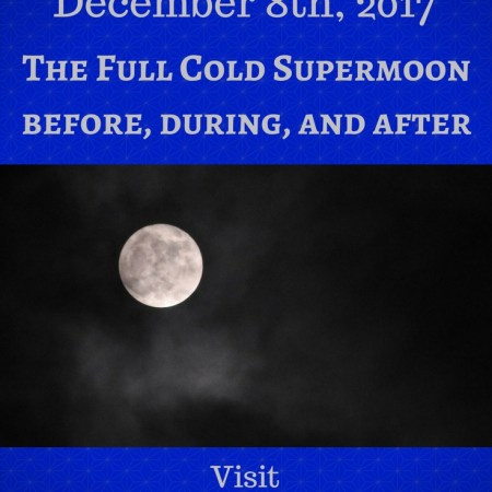 Full Cold Supermoon
