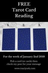 January 2nd 2018 Tarot