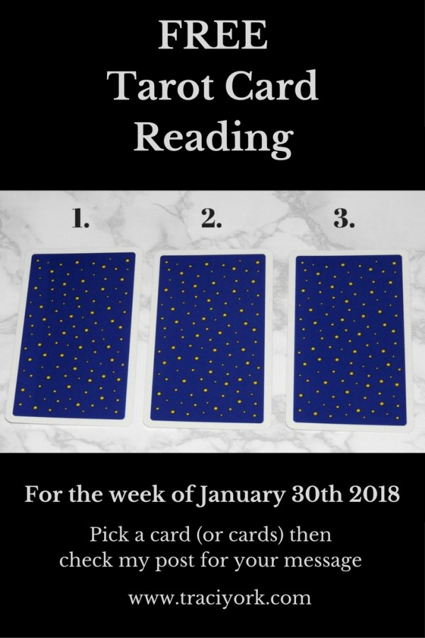 January 30th 2018 Tarot