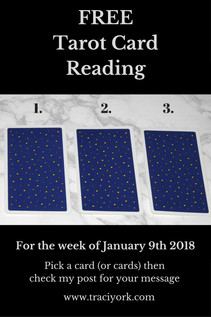 January 9th 2018 Tarot Blog Graphic