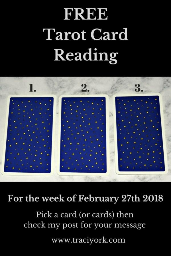 February 20th 2018 Tarot