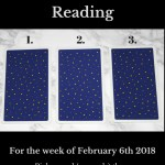 February 6th 2018 Tarot
