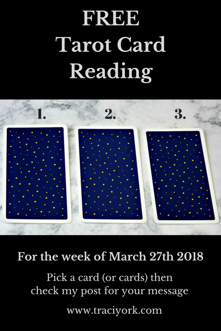 March 27th 2018 Tarot