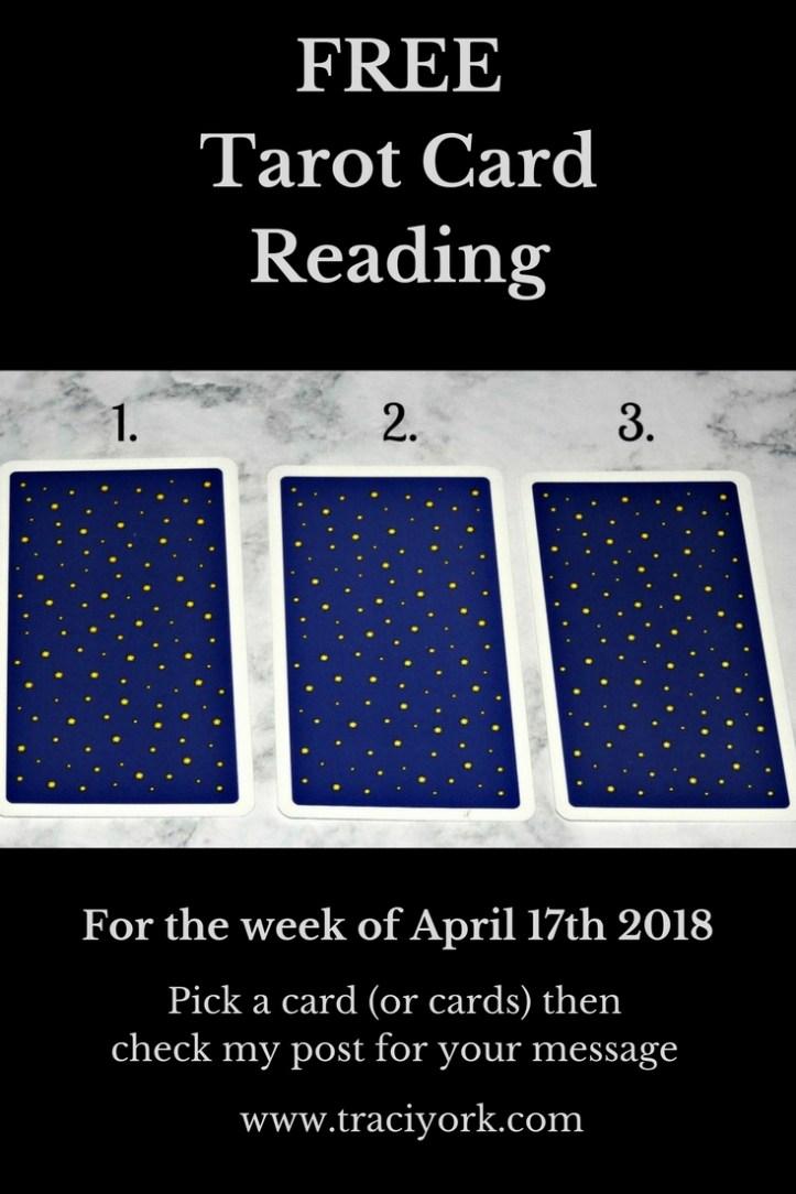 April 17th 2018 Tarot