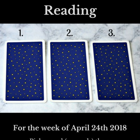 April 24th 2018 Tarot