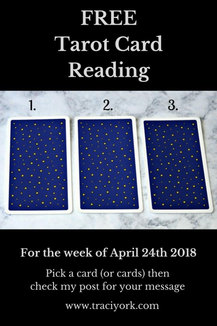 April 24th 2018 Tarot