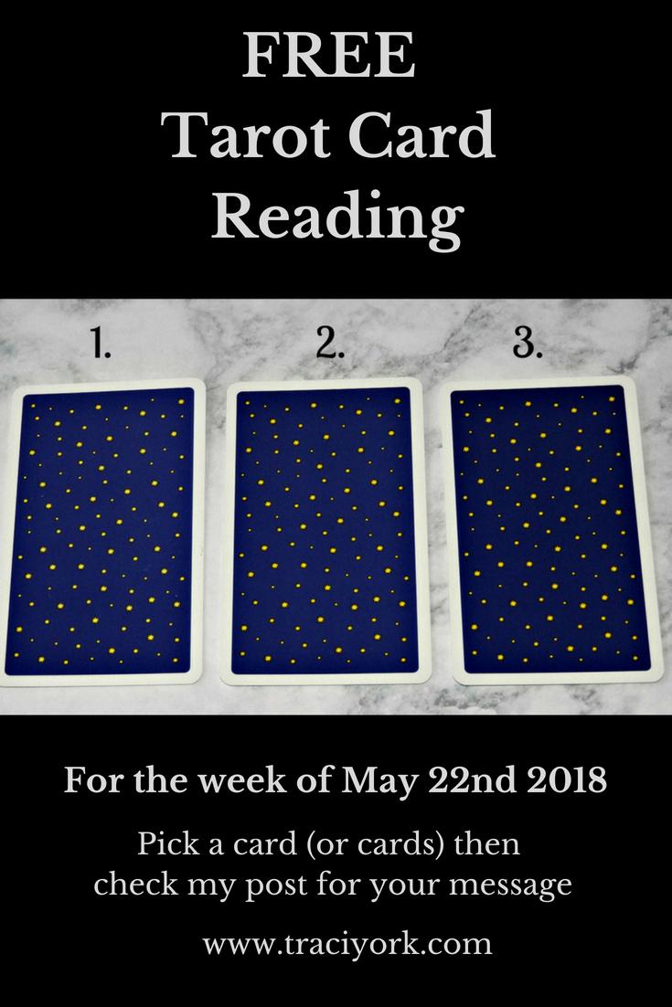 May 22nd 2018 Tarot
