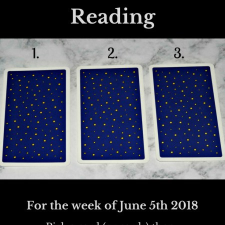 June 5th 2018 Tarot.