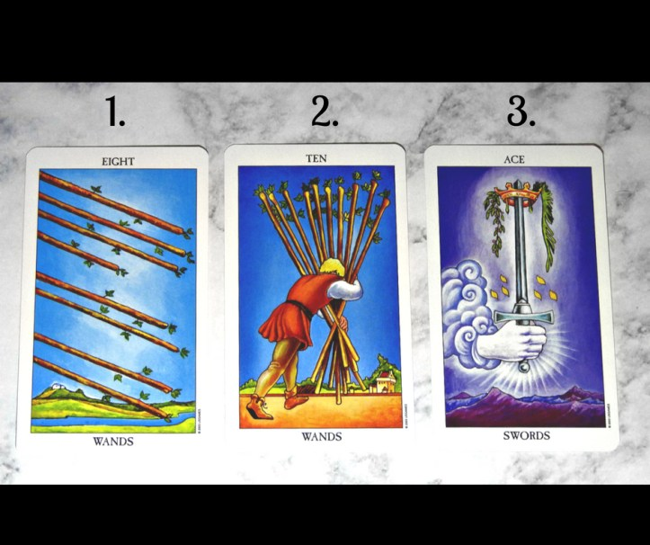 July 10th 2018 Tarot, Front