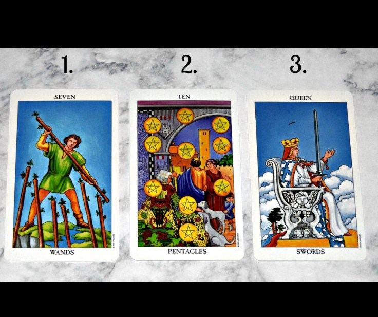 Tarot Tuesday Reading for September 25th 2018 front