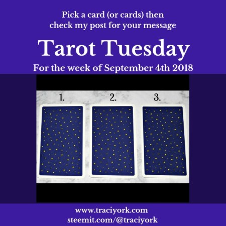 September 4th 2018 Tarot Tuesday blog thumbnail