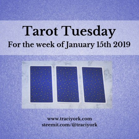 January 15 2019 Tarot Tuesday new years colors blog thumbnail