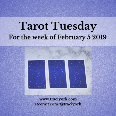 February 5 2019 Tarot Tuesday new years colors blog thumbnail