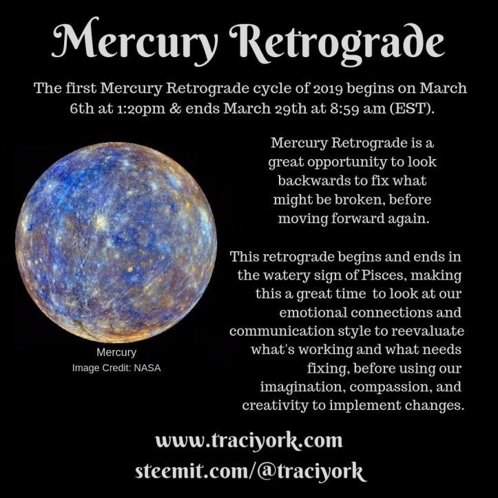 Mercury Retrograde March 2019