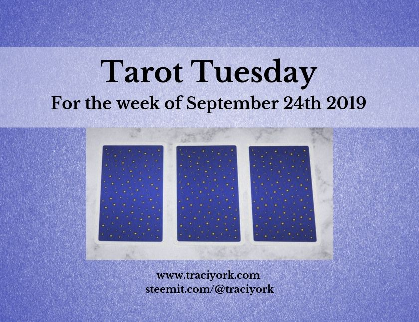September 24th Tarot Tuesday thumbnail