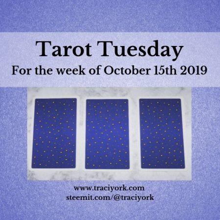 October 15th Tarot Tuesday thumbnail