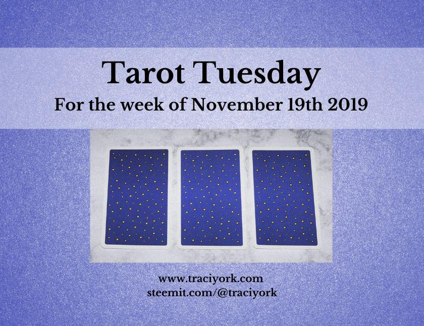 November 19th Tarot Tuesday thumbnail