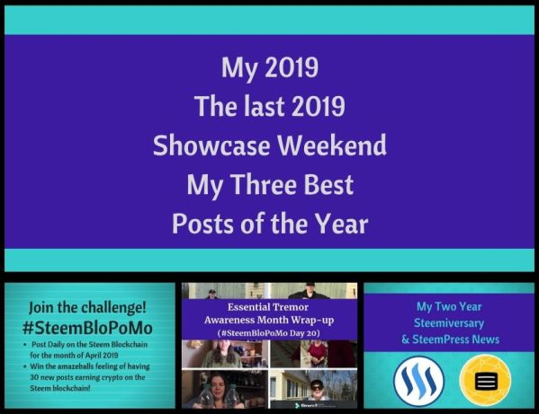 2019 Showcase Weekend My Three Best Posts of the Year blog thumbnail