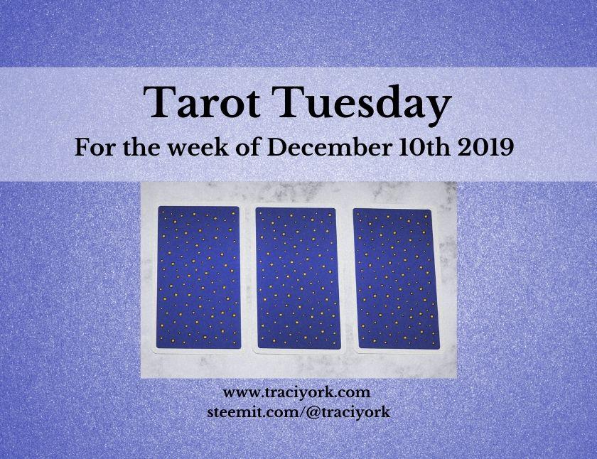 December 10th 2019 Tarot Tuesday thumbnail